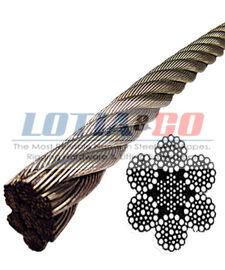 6 x 37 IWRC Ungalvanized Steel