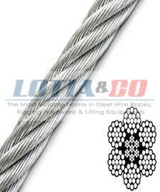 6x12 Fiber Core - Galvanised Ste