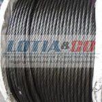 8×19 Fiber Core – Ungalvanised Steel Wire Rope for Elevator