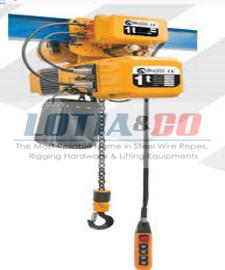Electric Chain Hoist with Motorised Trolley Black Fox