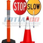 Safety Signs and cones