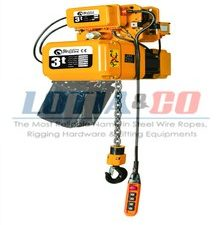 Electric Chain Hoist with Motorised Trolley from 1Ton to 5Tons